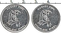 Изображение Монеты США Жетон 0 Железо XF Орел