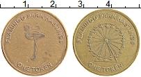 Изображение Монеты Великобритания Жетон 0 Латунь XF 1 Токен. Фламинго па