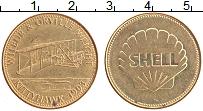 Изображение Монеты Германия Жетон 0 Латунь XF Шелл.Топливный жетон