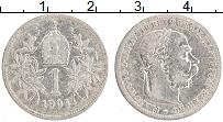 Изображение Монеты Австрия 1 крона 1904 Серебро XF- Франс Иосиф I