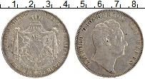 Продать Монеты Баден 2 талера 1852 Серебро