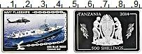Изображение Мелочь Танзания 500 шиллингов 2014 Серебро Proof Флагман седьмого фло