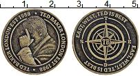Изображение Монеты Великобритания Жетон 1988 Бронза XF Тед Бэкер, Лондон