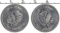 Изображение Монеты США Жетон 0 Железо XF Индеец