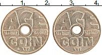 Изображение Монеты Великобритания Жетон 0 Латунь XF Жетон для табачных а