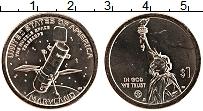 Изображение Мелочь США 1 доллар 2020 Латунь UNC Американские инновац