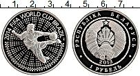 Изображение Монеты Беларусь 1 рубль 2013 Медно-никель UNC Чемпионат мира по фу