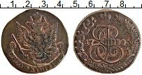 Изображение Монеты 1762 – 1796 Екатерина II 5 копеек 1784 Медь VF+ КМ