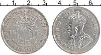 Изображение Монеты ЮАР 2 1/2 шиллинга 1932 Серебро VF Георг V