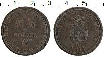 Изображение Монеты Великобритания 1/2 пенни 1811 Медь XF Индустриальный токен