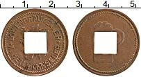 Изображение Монеты Германия Жетон 0 Медь XF Пивной жетон
