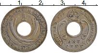 Продать Монеты Восточная Африка 1 цент 1909 Медно-никель