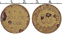 Изображение Монеты Россия Жетон 0 Латунь VF Joker Bank. Частное