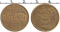 Изображение Монеты Испания Жетон 0 Латунь XF Порт Авентура. Парк