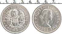 Продать Монеты Родезия 1 крона 1953 Серебро