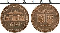 Изображение Монеты ФРГ Жетон 1975 Бронза UNC- Гамбург