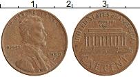 Изображение Монеты США 1 цент 1959 Медь XF D. Линкольн