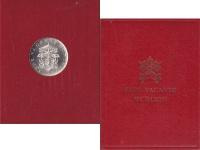Изображение Подарочные монеты Ватикан 500 лир 1963 Серебро UNC- Монета посвящена Сед