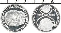 Изображение Монеты США Жетон 1968 Серебро Proof- Космос. APOLLO 8