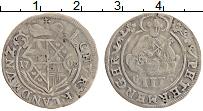 Изображение Монеты Триер 3 петерменгер 1708 Серебро VF