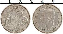 Изображение Монеты Австралия 1 флорин 1946 Серебро XF Георг VI