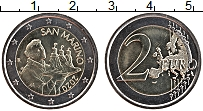 Изображение Монеты Сан-Марино 2 евро 2020 Биметалл UNC Святой Марин-деталь