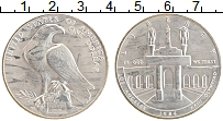 Изображение Монеты США 1 доллар 1984 Серебро UNC- D. Олимпийские игры