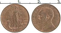 Изображение Монеты Италия 1 чентезимо 1916 Бронза UNC- Виктор Эммануил III