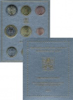 Изображение Подарочные монеты Ватикан Набор 2020 года. Бетховен 2020  UNC Набор 2012 года выпу