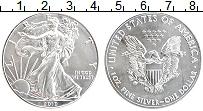 Изображение Монеты США 1 доллар 2019 Серебро UNC Свобода