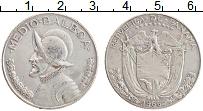 Изображение Монеты Панама 1/2 бальбоа 1966 Серебро XF Васко Нуньес де Баль