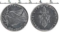 Изображение Монеты Ватикан 100 лир 1976 Сталь UNC Павел VI