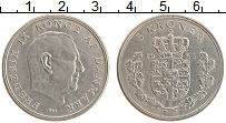 Изображение Монеты Дания 5 крон 1963 Медно-никель XF Фредерик IX