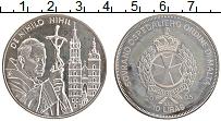 Изображение Монеты Мальтийский орден 10 лир 2005 Медно-никель UNC- Памяти Иоанна Павла
