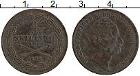 Изображение Монеты Швеция 2/3 скиллинга 1846 Медь XF Оскар