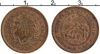 Изображение Монеты Боливия 1 боливиано 1951 Бронза XF+ м.д.Кингс Нортон