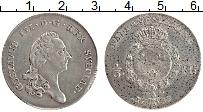 Изображение Монеты Швеция 1/3 ригсдаллера 1789 Серебро XF Густав III
