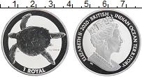 Изображение Монеты Британско - Индийские океанские территории 2 фунта 2020 Серебро Proof