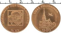 Изображение Монеты Швеция 10 крон 1980 Бронза UNC- Городские деньги
