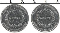Изображение Монеты Великобритания Жетон 0 Медно-никель XF Игровой жетон. Минис