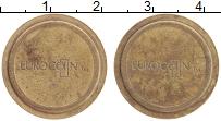 Изображение Монеты Великобритания Жетон 0 Латунь XF Еврокоин