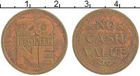 Изображение Монеты Великобритания Жетон 0 Бронза XF Игровой жетон.