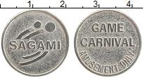 Изображение Монеты Великобритания Жетон 0 Медно-никель XF Игровой жетон. Карна