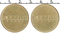 Изображение Монеты Великобритания Жетон 0 Латунь XF Метрик групп