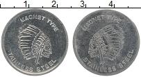 Изображение Монеты США Жетон 0 Железо XF Игровой жетон