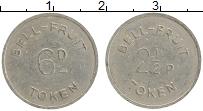 Изображение Монеты Великобритания Жетон 0 Медно-никель XF 2 1/2 пенса Токен