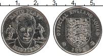 Изображение Монеты Великобритания Жетон 1996 Медно-никель XF Футбол. Дэвид Платт