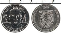 Изображение Монеты Великобритания Жетон 1998 Медно-никель UNC- Футбол. Сол Кэмпбелл