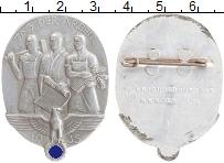 Изображение Значки, ордена, медали Третий Рейх Значок 1935 Алюминий XF Знак День труда