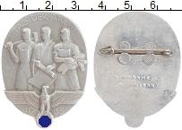 Изображение Значки, ордена, медали Третий Рейх Значок 1938 Алюминий XF Знак День труда